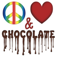 Peace & Love chocolate